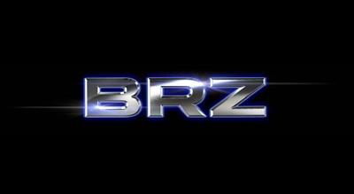 subaru『BRZ』ロゴ
